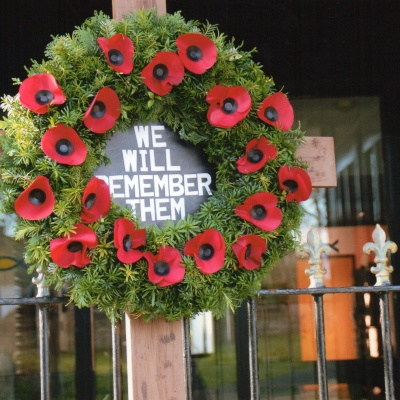Remembrance at Haydon Bridge